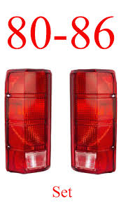 80-86 Truck & Bronco Tail Light Set, MrTailLight.com Online Store Truck Led Headlight 7 With Park Light Adr Approved Lights Submersible Red 23led Light Bar Stop Turn Tail 3rd Brake Lights Bars Headlights Fog Driving Off Road The Roofmounted Led Is Cab Visors Cousin Drive New Aftermarket Used For Most Medium Heavy Duty Trucks Kelsa High Quality Accsories The Trucking Trucklite 15250y 15 Series Yellow Rectangular Marker Clearance 24v Old Benz Truck Tail Rear Lamp Buy 2 Red 4 Round Trailer Brake With Tailgate Signals Xenonhidscom 2x Amber 3 Fish Shape Side Lamp