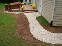 This Gravel-based #walkway Is Cost-effective And Easy To Repair ... Virginia Beach Drainage Solutions Contractor Yard Madecorative Landscapes Inc Memphis Tn Contractors Do It Yourself Yard Drain Youtube Almost Perfect Landscaping Best 25 French Drain Ideas On Pinterest Drainage Turning Your Ditch Into A Beautiful Dry Stream Bed Water Garrett Churchill Nine Red Wheelbarrow Rain Chain Cute Solution Gravel Patio Drain Pictures Archives South Jersey