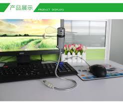 gadgets bureau mini led usb horloge ventilateur montre gadgets bureau