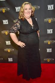Lauryn Pumpkin Shannon Ig by Mama June Flaunts 300 Lb Weight Loss In Body Hugging Red Dress