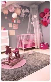 Deco Chambre Bb Fille Lit Bebe Fille Tapis Décoration Intérieure Chambre Enfant Bébé Nursery Berceau Lit