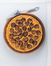 tarte aux figues à la pâte d amande et sa croûte à l huile d olive