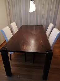 tisch mit vier stühlen möbel pfister kaufen auf ricardo