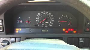 1996 volvo 850 glt dash lights