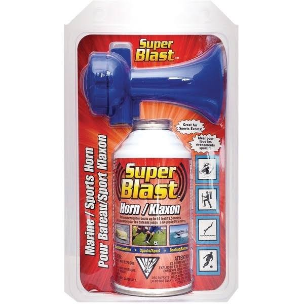 Super Blast Air Horn Non Flammable Kit - 8oz