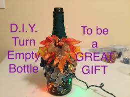 Decorative Wine Bottles Diy by Diy Wine Bottle Crafts I How To Decorate Empty Glass Bottles