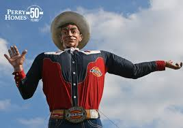 Big Tex Is Watching Over You