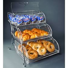 Rosseto Illuminate Bak 303M Curved Bakery Display Case