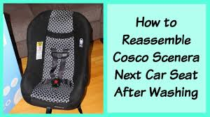 100 Safety 1st High Chair Manual How To Adjust Straps Or Reassemble Cosco Scenera Next Car Seat YouTube