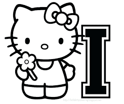 Coloring Pages Hello Kitty And Friends Pictures Of At Christmas Printable Sheets Kids Get Latest Free