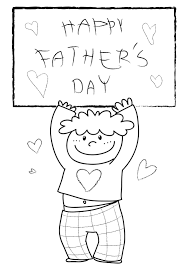 Free Fathers Day Coloring Pages S For And Niceimages Org