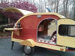 Just Wanted To Show You This Custom Built 2014 Woody Style Teardrop Camper Thats For Sale