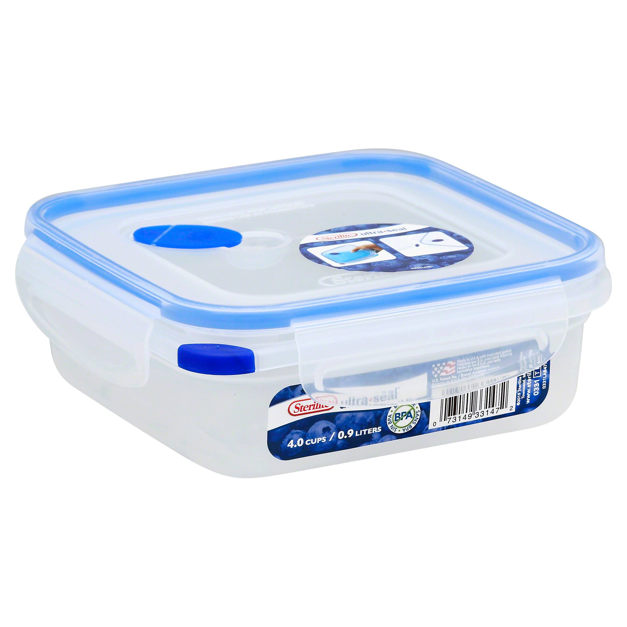 Sterilite 03314706 Square Container - 32oz