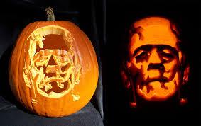 Free Frankenstein Pumpkin Stencil Printables by Frankenstein Pumpkin Carving Faces Patterns Patterns Kid