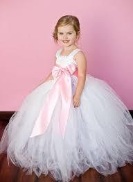 Pink Girl Tutu Dress For Birthday Wedding Party Festival