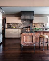 Industrial Chic And Rustic Modern Kitchen By Applegate Tran Interiors
