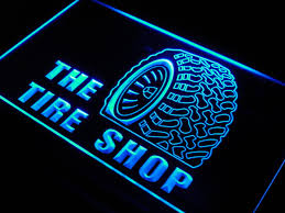 s121 Tire Shop Car Auto Repair Beer LED Neon Light Sign f
