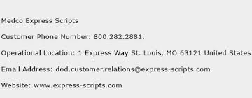 Express Scripts Pharmacy Help Desk Number by Medco Express Scripts Customer Service Phone Number Contact