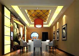 Decoration Overwhelming Gypsum Ceiling Designs Dining Room For Small Modern Design Sustainable Pals False Roo
