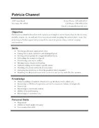 High School Job Resume Template Student First