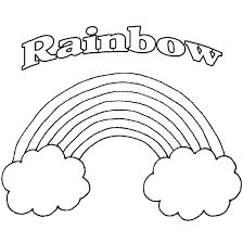 Rainbow Coloring Pages Printable 15