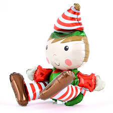 Airfilled Elf For Your Shelf Foil Balloon