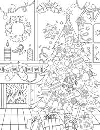 New Adult Coloring Pages Christmas Fox Horse Whale And More