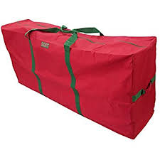K Cliffs Heavy Duty Christmas Tree Storage Bag Fit Upto 9 Foot Artificial Holiday Red Extra Large Dimensions 65 X 30 15 By Praise Start