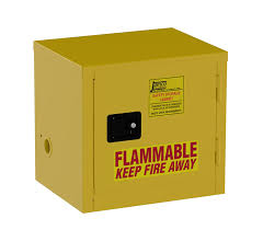 Flammable Cabinets Grounding Requirements by Amazon Com Jamco Products Inc Ba06 Yp 6 Gallon Safety Cabinet