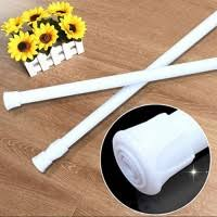 Spring Loaded Curtain Rods Uk by Curtain Rod Sodial R Spring Loaded Extendable Telescopic Net