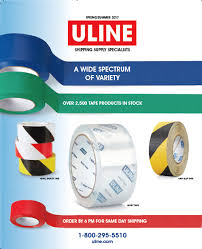 Uline Tape Catalog Cover