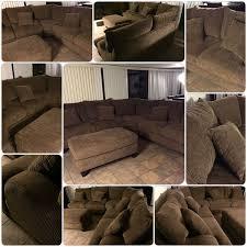 Mor Furniture Tabby Brown Sectional Furniture in Phoenix AZ