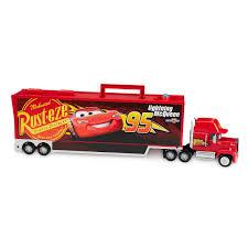 100 Disney Cars Mack Truck Hauler Carrier With Four Die Cast Set Shop