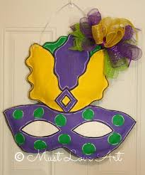 Mardi Gras Classroom Door Decoration Ideas by 561 Best Burlap Door Hangers Images On Pinterest Burlap Crafts