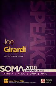SOMA Speaker Series Poster Digital Graphic Design Inspiration