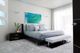 modern wall sconces bedroom contemporary with bedding bedroom