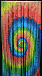 Hippie Bead Curtains For Doors by Kmart Beaded Curtains Bath And Beyond Bamboo Spiral Tie Dye Wooden