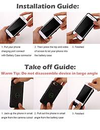 Amazon iPhone 6s Plus Battery Case iPhone 7 Plus Battery