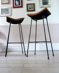 Furniture Update Your Home With Nice Saddle Stools
