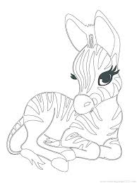 Coloring Pages Of Cute Baby Animals Cartoon Farm