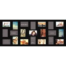 Grandin Road Ez Bed by Gallery Solutions Black 21 Opening Collage Frame 21 Opening