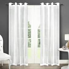 Brylane Home Sheer Curtains by Grommet Sheer Curtains For Less Overstock Com