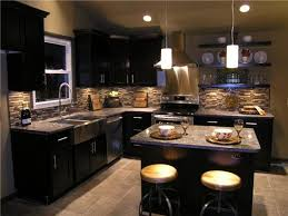 Kitchens With Dark Cabinets And Wood Floors by Kitchen Inspiration Gallery Dark Cabinet Kitchen Dark Kitchen