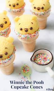 winnie the pooh cupcake cones