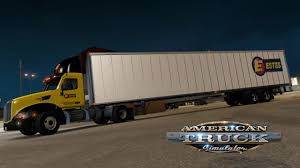 American Truck Simulator - Estes Peterbilt 579 Quick Trip - YouTube
