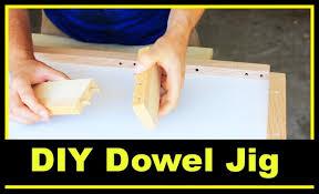 diy dowel jig youtube