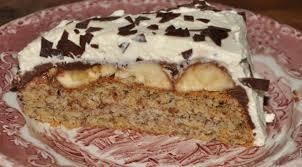 bananen schoko torte