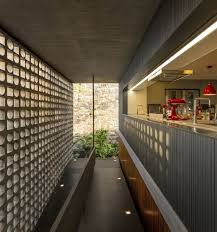 100 Dream Houses Inside Hollowed Out Concrete Elements Allows Light To Filter