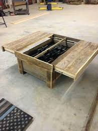 concealed gun coffee table knock offs pinterest coffee