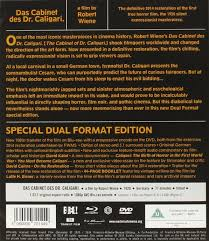 Dr Caligaris Cabinet Imdb by Das Cabinet Des Dr Caligari Masters Of Cinema Dual Format Edition